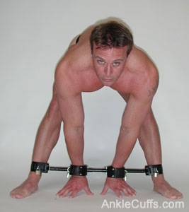 Adjustable Stocks Male Bondage